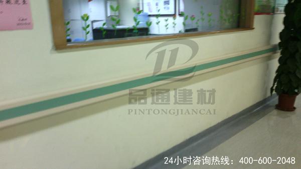 【安徽】东至县中医院走廊扶手
