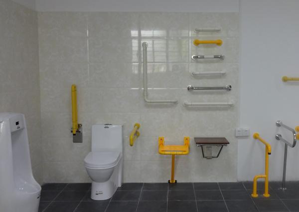 【海南】海口人民医院无障碍扶手,环保标准抗菌耐腐蚀--品通建材