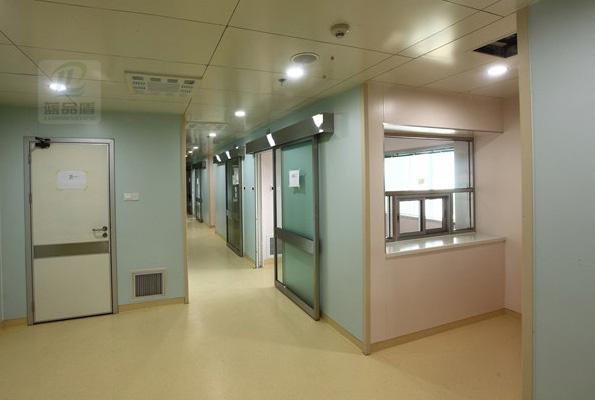 【湖北】武汉普仁医院安装PT-51防撞护角,湖北地区又多一位品通客户