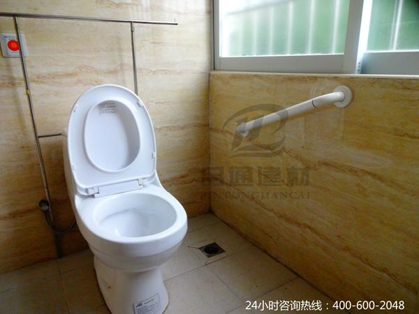 【新疆】吉昌市第二人民医院的厕所扶手,缘来在品通建材