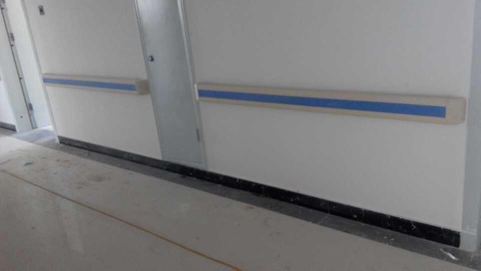 蓝品盾PVC防撞扶手的新客户-云南昆明