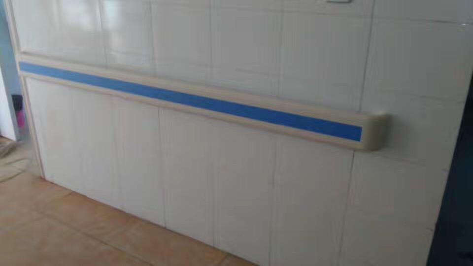 【甘肃省】张掖市民乐县人民医院里的走廊扶手,140mm宽很适合