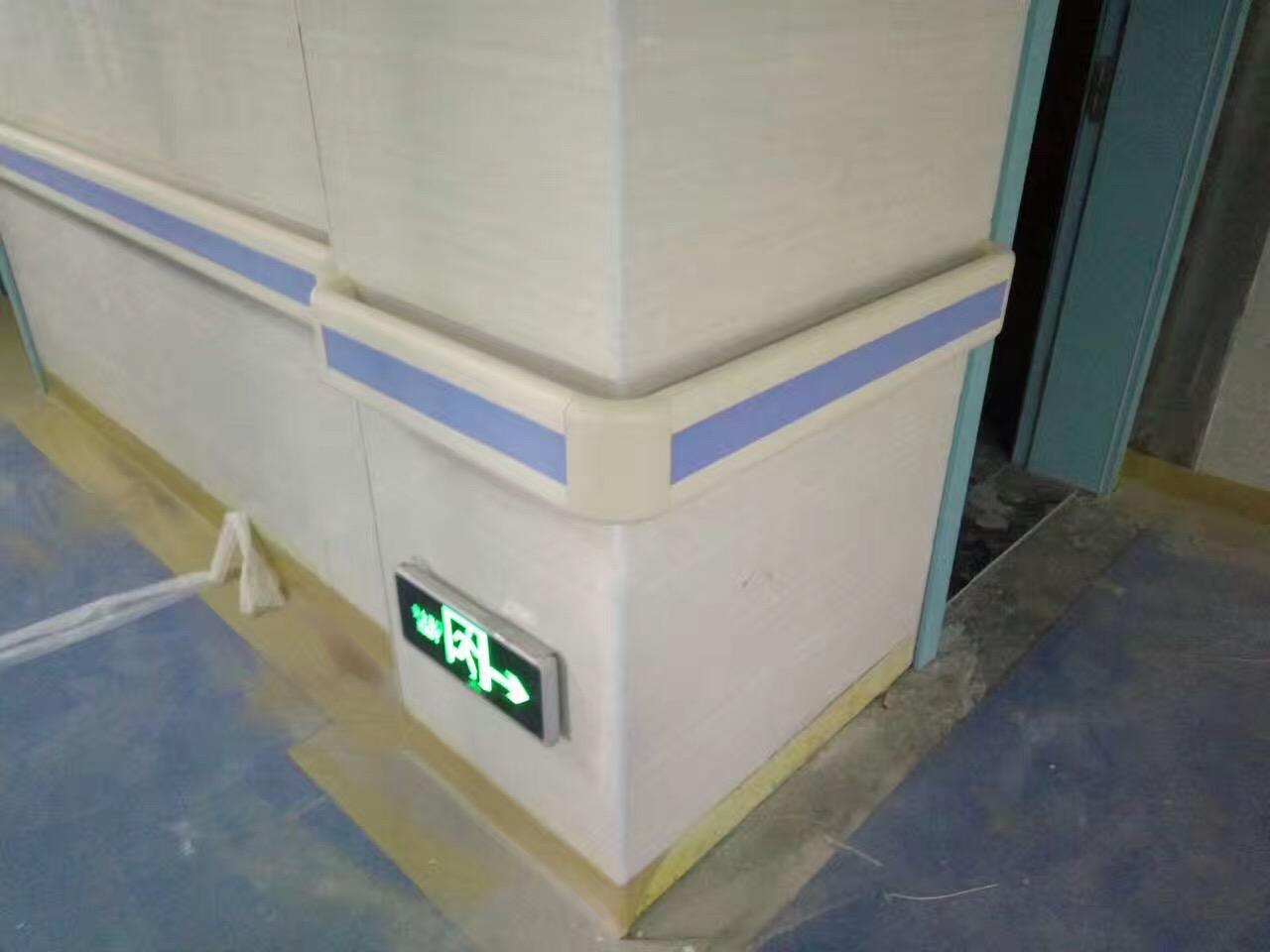 【甘肃】乐县人民医院安装的是140款防撞扶手