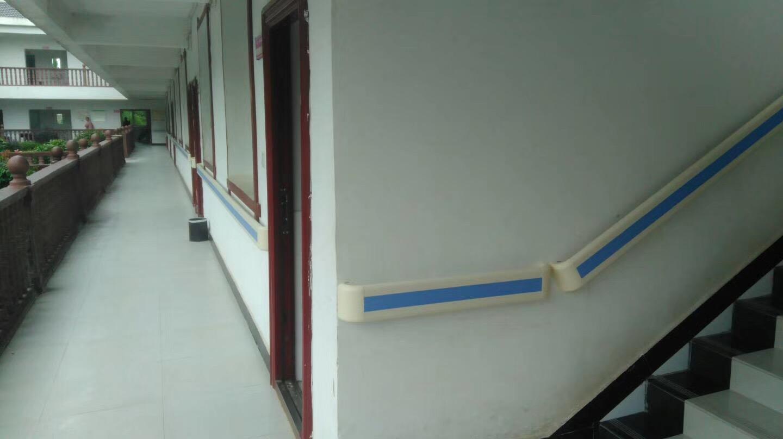 【张家界】官黎坪养老院安装了PVC扶手后,客户变成了朋友
