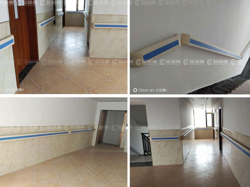 【湖南省】衡山师古桥一德医院防撞扶手设施安装