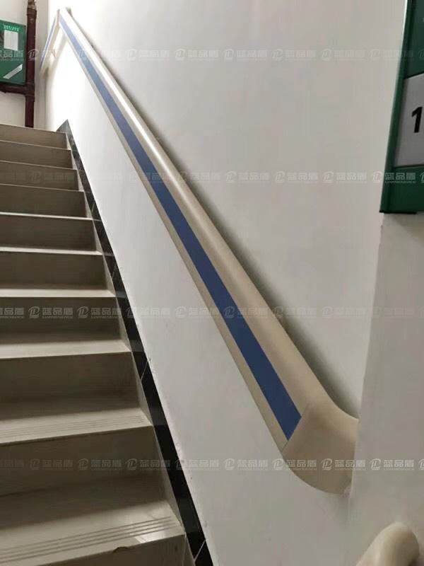 【广西】桂林资源县人民医院里的PVC防撞扶手安装效果图