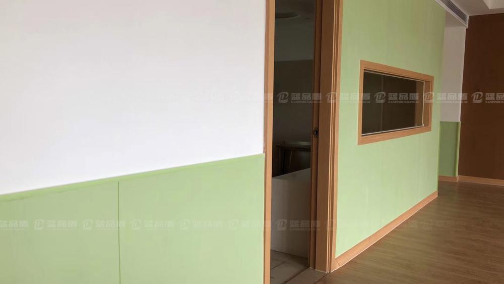 【江阴市】协和双语幼儿园树脂板安装效果图