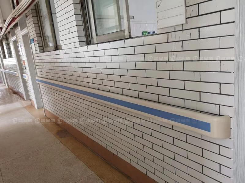 【广东】花都区人民医院里的防撞扶手现场安装图