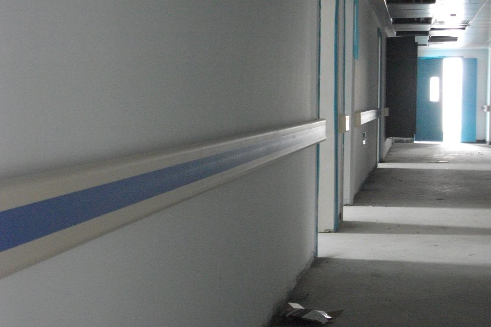 【浙江省】义乌市后宅社区卫生服务中心里走廊扶手选的哪样的呢?