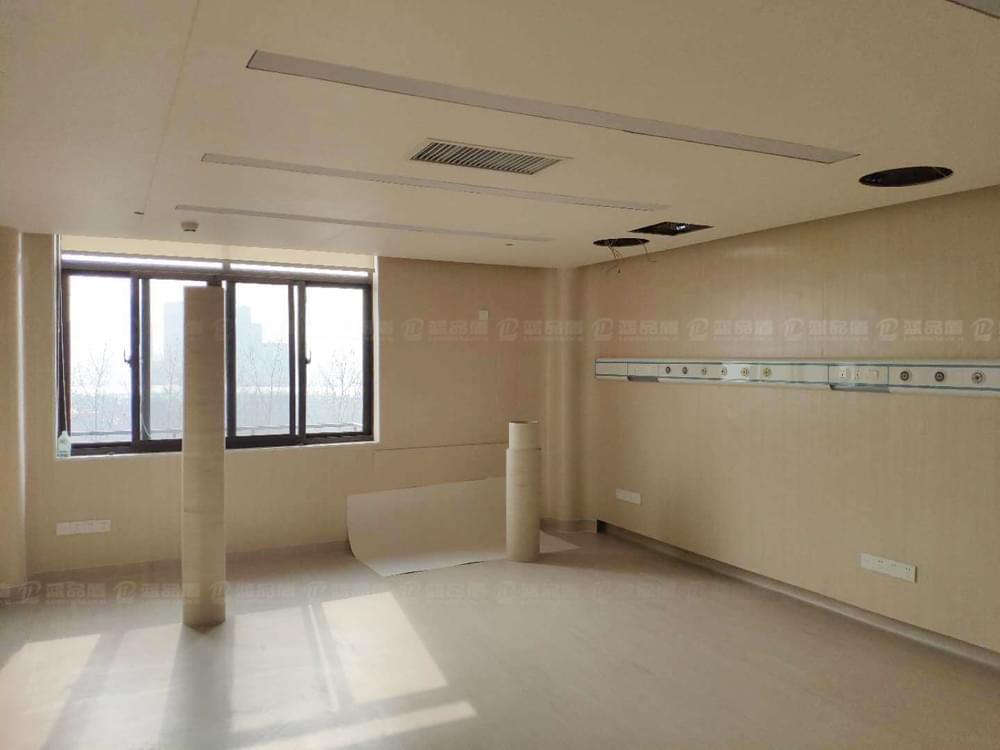 【江西】南昌平安检测中心木纹色树脂板安装效果图