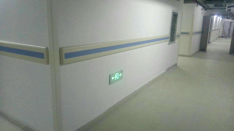 深圳平安金融中心&pvc防撞护墙板、防撞护角的搭配-蓝品盾
