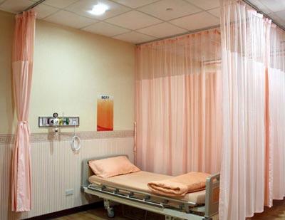 桂林市妇幼保健院选购品通病床隔帘