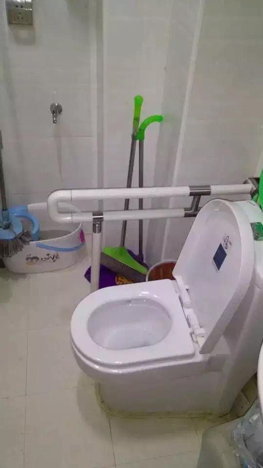 【尼龙材质】的卫浴扶手,温州客户选购的绝佳产品