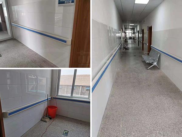 河南范县王楼镇人民医院案例图/充满了稳稳的整洁感!【蓝品盾】