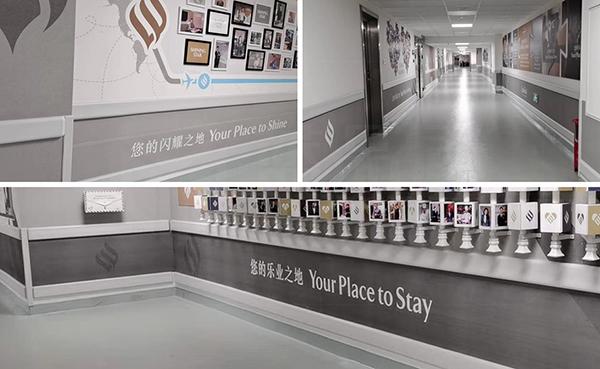 珠江新城jumeirah酒店护墙板安装效果!【蓝品盾】