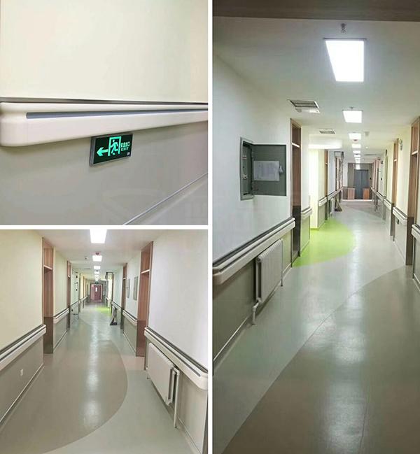 大连奇加医院案例/过硬的质量是信任的基础【蓝品盾】
