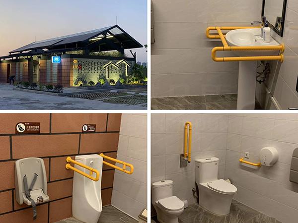 东莞市第三卫生间案例/卫生间的设计与布局【蓝品盾】