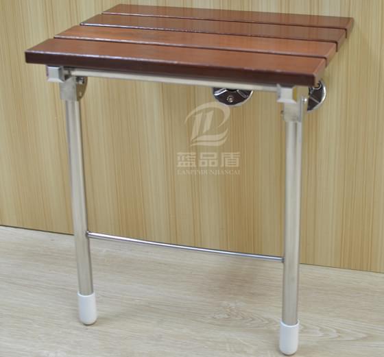 PT-MY-06带支撑防腐木浴椅