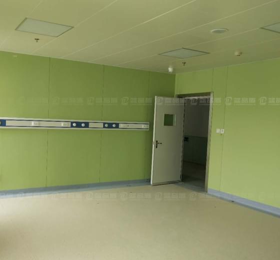 蓝品盾防滑抗菌医院树脂板墙裙